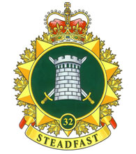 32 Canadian Brigade Group Badge
