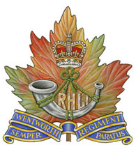 The Royal Hamilton Light Infantry crest