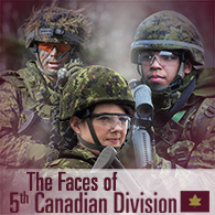 Faces of the 5th Canadian Division