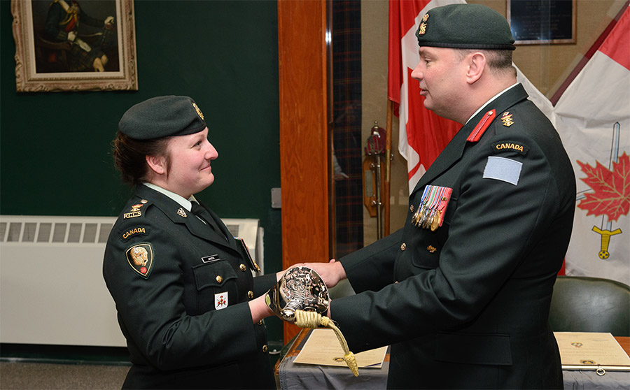 38 Signal Regiment Change of Command