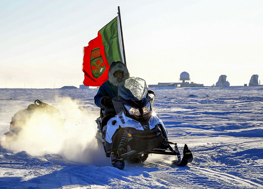 A member of 1st Canadian Ranger Patrol Group