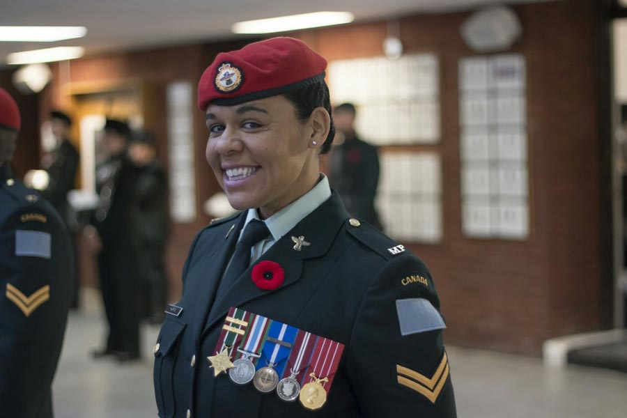 Corporal Peggy Harris