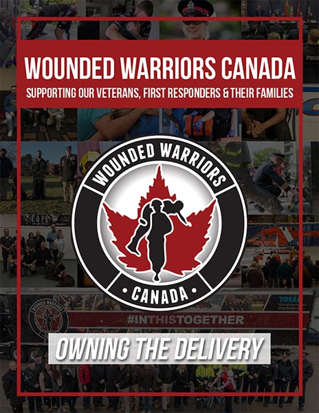 Wounded Warriors Canada fundraising events and group  programs may be postponed due to COVID-19, but peer support and advice are still available via woundedwarriors.ca