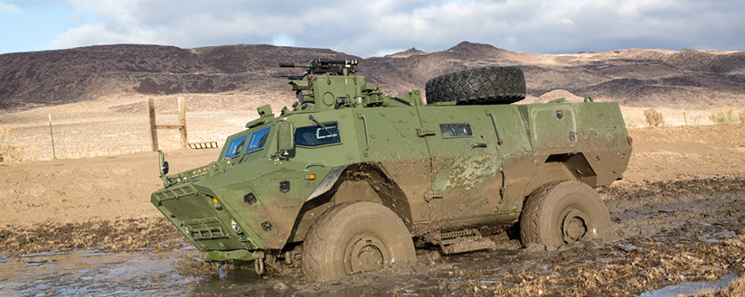 Slide - Tactical Armoured Patrol Vehicle