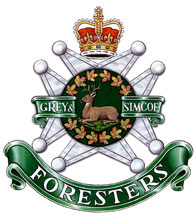 The Grey & Simcoe Foresters crest
