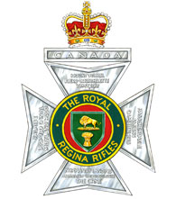 The Royal Regina Rifles Badge